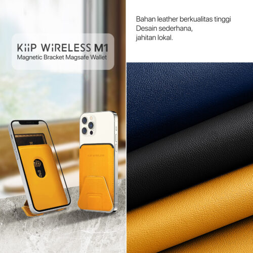 KiiP M1 Magnetic Card Holder Magsafe Wallet Phone Holder Iphone 12